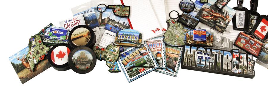 Polar Magnetics Souvenirs Magnets Key Chains Coasters Shot
